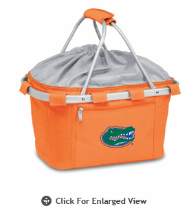 Picnic Time Metro Basket Embroidered- Orange University of Florida Gators