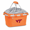 Picnic Time Metro Basket Embroidered- Orange Virginia Tech Hokies
