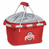 Picnic Time Metro Basket Embroidered- Red Ohio State Buckeyes