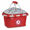 Picnic Time Metro Basket Embroidered- Red University of Alabama Crimson Tide