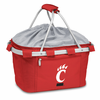 Picnic Time Metro Basket Embroidered- Red University of Cincinnati Bearcats
