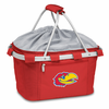 Picnic Time Metro Basket Embroidered- Red University of Kansas Jayhawks