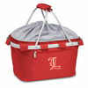 Picnic Time Metro Basket Embroidered- Red University of Louisville Cardinals