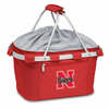 Picnic Time Metro Basket Embroidered- Red University of Nebraska Cornhuskers
