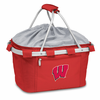 Picnic Time Metro Basket Embroidered- Red University of Wisconsin Badgers