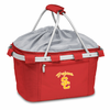Picnic Time Metro Basket Embroidered- Red USC Trojans
