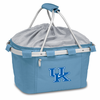Picnic Time Metro Basket Embroidered- Sky Blue University of Kentucky Wildcats