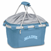 Picnic Time Metro Basket Embroidered- Sky Blue University of Maine Black Bears