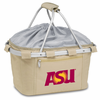 Picnic Time Metro Basket Embroidered- Tan Arizona State Sun Devils