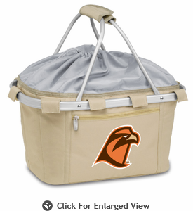 Picnic Time Metro Basket Embroidered- Tan Bowling Green State Falcons
