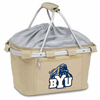 Picnic Time Metro Basket Embroidered- Tan BYU Cougars