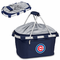 Picnic Time Metro Basket - Navy Blue Chicago Cubs