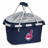 Picnic Time Metro Basket - Navy Blue Cleveland Indians