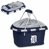 Picnic Time Metro Basket - Navy Blue Detroit Tigers