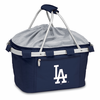 Picnic Time Metro Basket - Navy Blue Los Angeles Dodgers