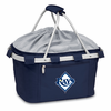 Picnic Time Metro Basket - Navy Blue Tampa Bay Rays