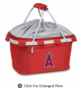 Picnic Time Metro Basket - Red Los Angeles Angels