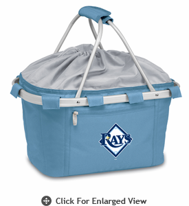 Picnic Time Metro Basket - Sky Blue Tampa Bay Rays