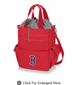 Picnic Time MLB - Activo Cooler Tote  Boston Red Sox  Red