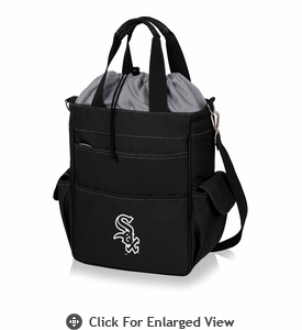Picnic Time MLB - Activo Cooler Tote  Chicago White Sox Black w/ Grey