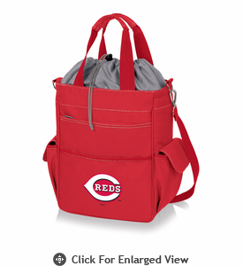 Picnic Time MLB - Activo Cooler Tote  Cincinnati Reds  Red