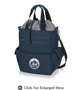 Picnic Time MLB - Activo Cooler Tote  New York Mets Navy Blue