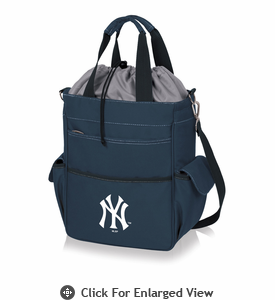 Picnic Time MLB - Activo Cooler Tote  New York Yankees Navy Blue