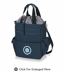 Picnic Time MLB - Activo Cooler Tote  Seattle Mariners Navy Blue