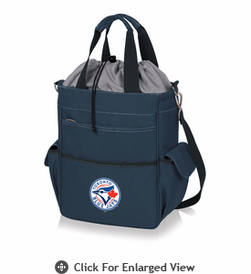 Picnic Time MLB - Activo Cooler Tote  Toronto Blue Jays Navy Blue