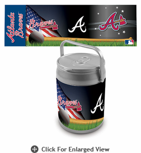 Picnic Time MLB Can Cooler Atlanta Braves
