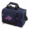 Picnic Time MLB Malibu - Navy Blue Atlanta Braves