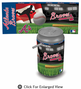 Picnic Time MLB Mega Can Cooler Atlanta Braves