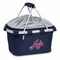 Picnic Time MLB Metro Basket - Navy Blue Atlanta Braves