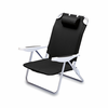 Picnic Time MLB Monaco Beach Chair - Black Arizona Diamondbacks