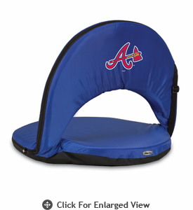 Picnic Time MLB Oniva Seat - Navy Blue Atlanta Braves