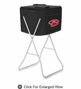 Picnic Time MLB Party Cube - Black Arizona Diamondbacks