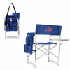Picnic Time MLB Sports Chair - Navy Blue Atlanta Braves