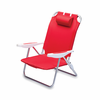 Picnic Time Monaco Beach Chair - Red Washington Nationals