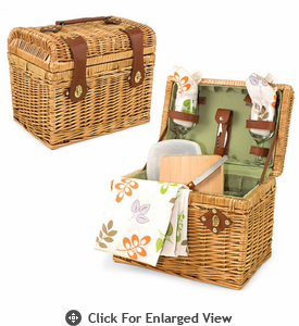 Picnic Time Napa Wine & Cheese  Basket For 2