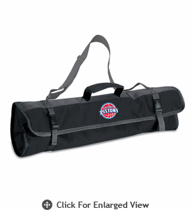 Picnic Time NBA - 3pc BBQ Tote Detroit Pistons