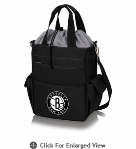 Picnic Time NBA - Activo Cooler Tote Brooklyn Nets Black w/ Grey