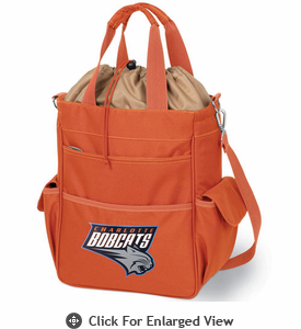 Picnic Time NBA - Activo Cooler Tote  Charlotte Bobcats Orange