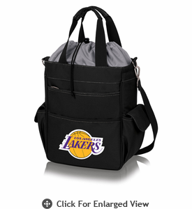 Picnic Time NBA - Activo Cooler Tote Los Angeles Lakers Black w/ Grey