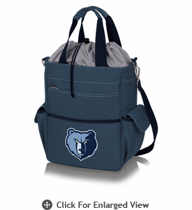 Picnic Time NBA - Activo Cooler Tote Memphis Grizzlies Navy Blue