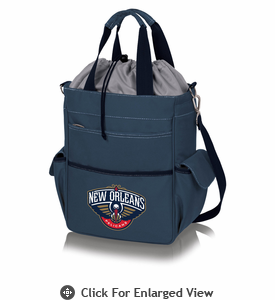 Picnic Time NBA - Activo Cooler Tote  New Orleans Pelicans Navy Blue