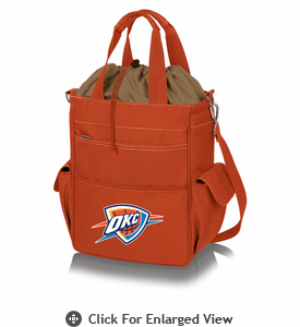 Picnic Time NBA - Activo Cooler Tote  Oklahoma City Thunder Orange