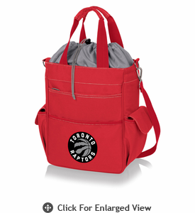 Picnic Time NBA - Activo Cooler Tote  Toronto Raptors Red