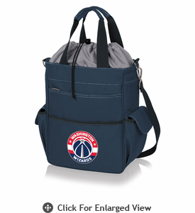 Picnic Time NBA - Activo Cooler Tote Washington Wizards Navy Blue