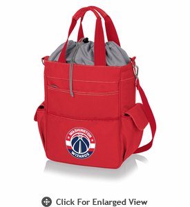 Picnic Time NBA - Activo Cooler Tote  Washington Wizards Red
