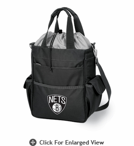 Picnic Time NBA - Black Activo Brooklyn Nets